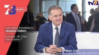 7/8 Europe – émission du 8 décembre 2017 avec Philippe Juvin, eurodéputé (LR) d'Ile-de-France