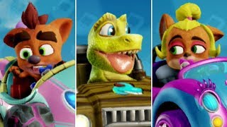 Crash Team Racing Nitro-Fueled - Baby Characters Unlocked + Gameplay