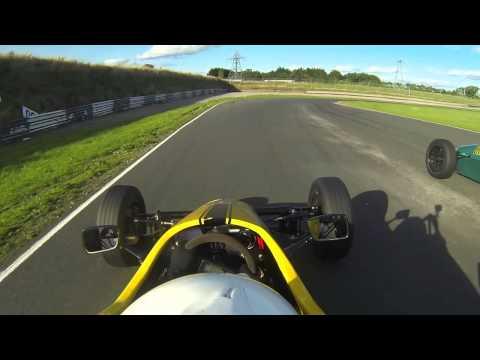 Adam Macaulay Round 9 Irish Formula Vee 2013