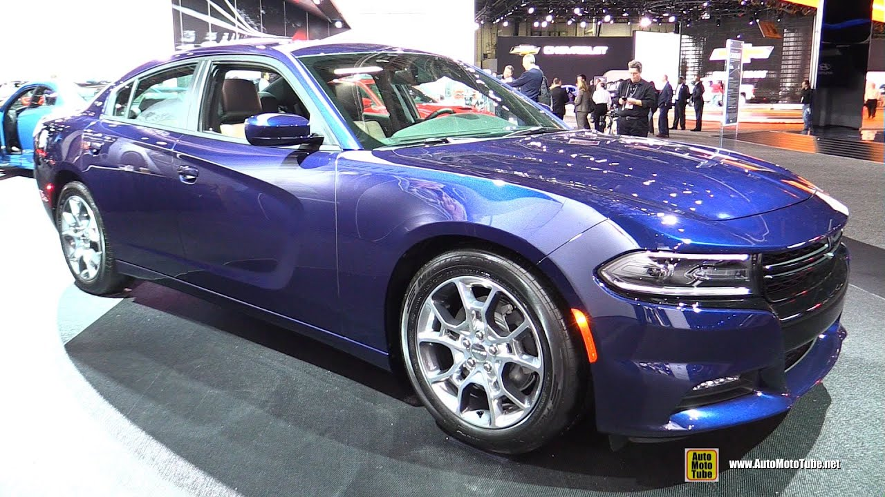 2015 dodge charger rallye awd exterior and interior walkaround 2015 detroit auto show youtube - Dodge Charger 2015 Exterior