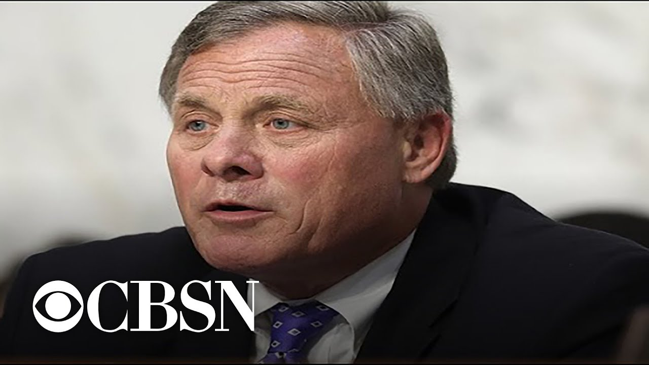 Senate Intel chair Richard Burr speaks to CBS News on Russia probe