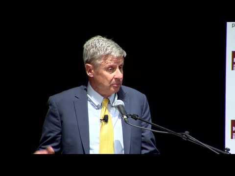 Libertarian Presidential candidate Gov. Gary Johnson