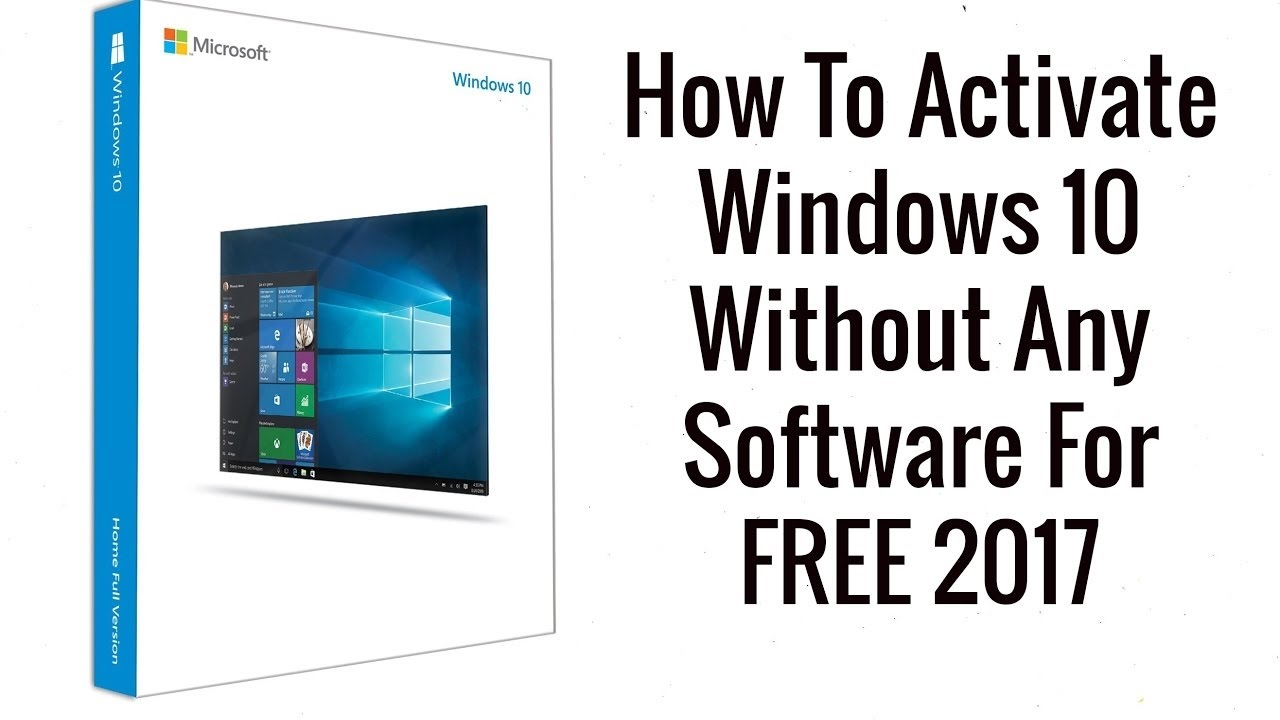 How to activate windows 10 without any software for free easy way how to activate windows 10 without any software for free easy way ii 2017 ii ccuart Choice Image