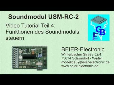 Soundmodul USM-RC-2 Tutorial 04