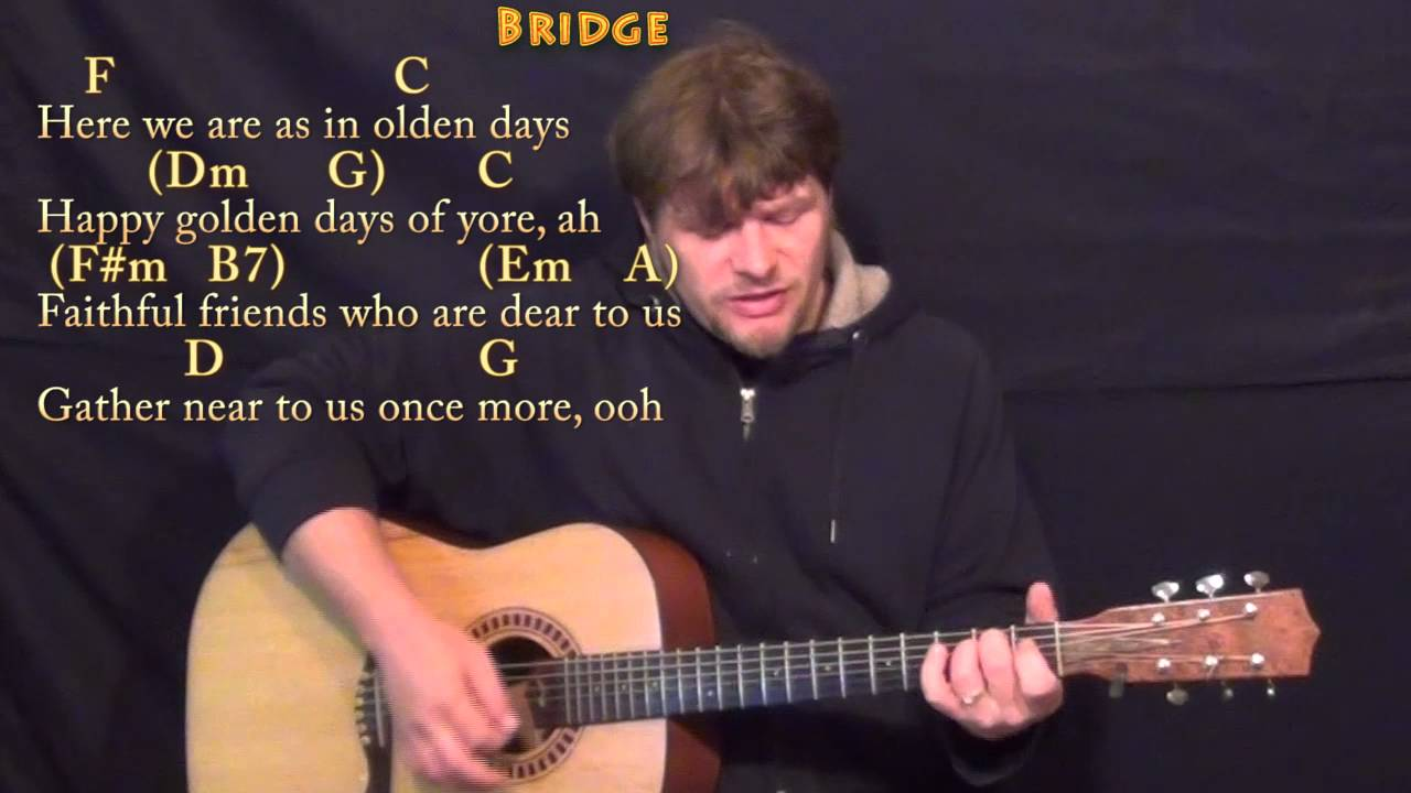 Have Yourself A Merry Little Christmas - Guitar Cover Lesson in C with Chords/Lyrics - YouTube