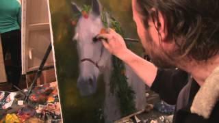 """Видеоурок Сахарова """"Как научиться рисовать лошадь"""" живопись для начинающих, уроки рисования"""