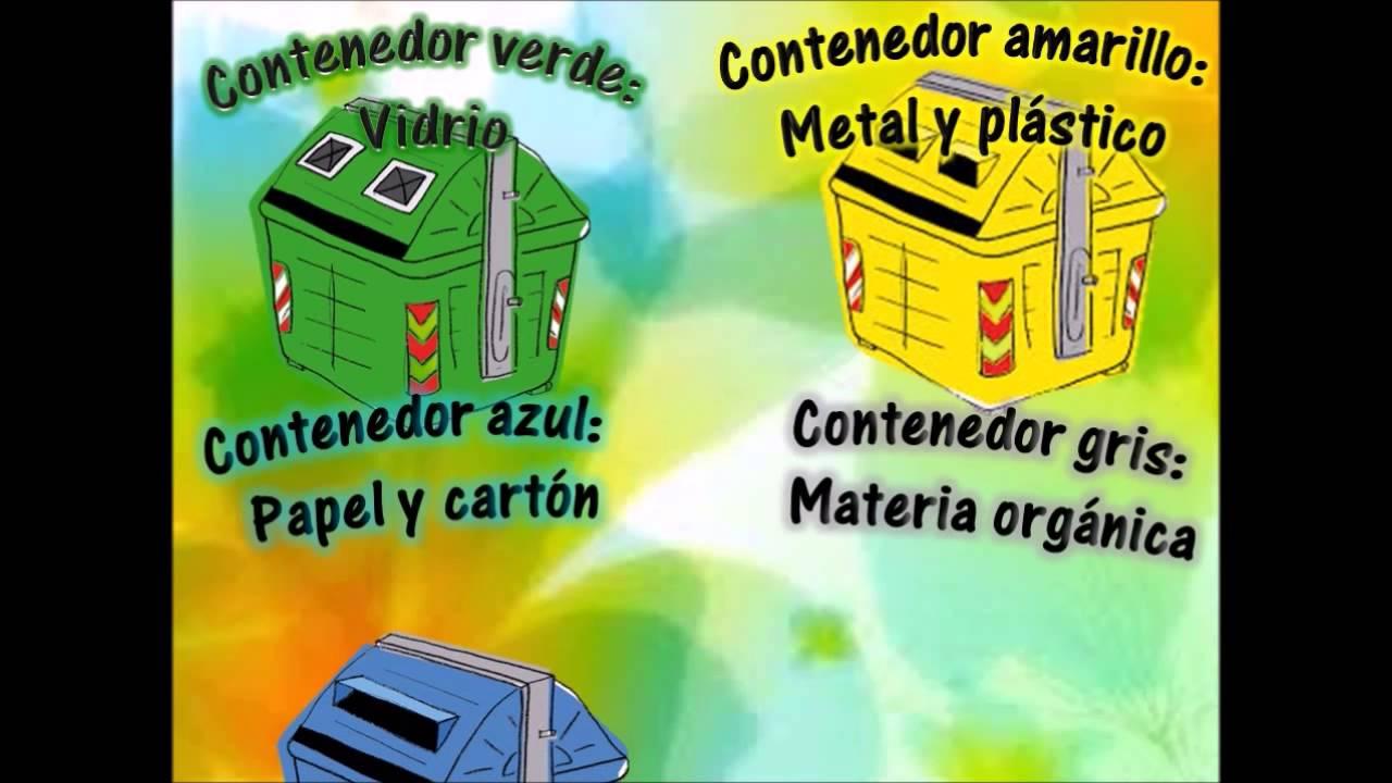Video de reciclaje para ni os y ni as de infantil youtube - Contenedores de reciclar ...