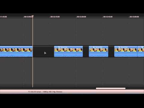 Final Cut Pro X Position Tool Gap Bug