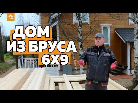 Поэтапное строительство дома из профилированного бруса своими руками. Часть 1