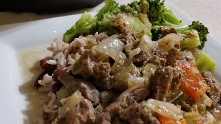 Instant Pot Ultra Mini Pepper Steak CookingWithDoug Style