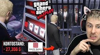 Wegen SPIELSUCHT in GTA ONLINE im KNAST gelandet??!! (GTA Roleplay!)