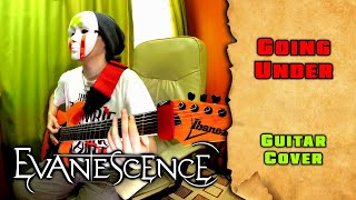 evanescence - going under (guitar cover by mike_kidlazy) with solo + tab