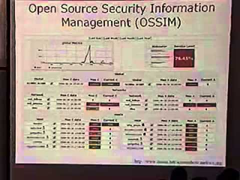 DEF CON 12 Hacking Conference By Greg Conti - Network Attack Visualization - Video