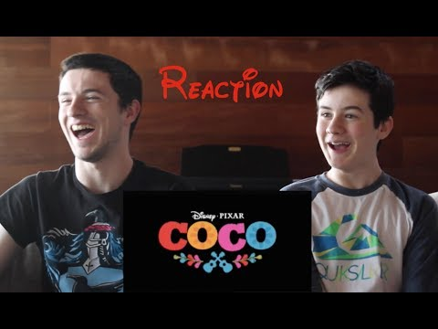 Thumbnail: Coco- Official US Trailer REACTION