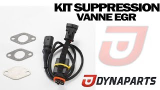 Kit suppression Vanne EGR 1.3 JTD Fiat