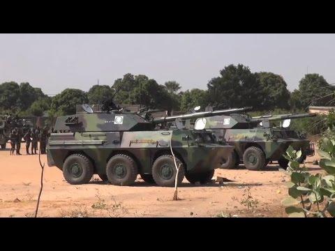 Gambie: Les forces de la CEDEAO au poste frontalier de Karang
