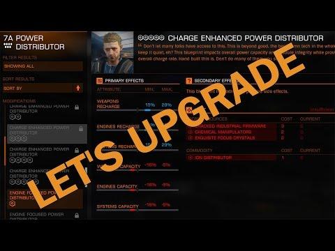 Elite:Dangerous. Let's Upgrade. Charge Enhanced Power Distributor. Grade 5