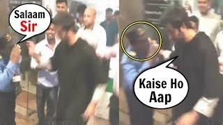 Ranbir Kapoor Kind Gesture Towards Poor Watchmen At Sanju Promotion