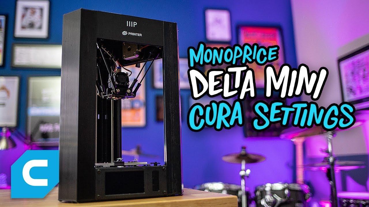 Monoprice Mini Delta 3D Printer Review - 3dPrinterGeeks com