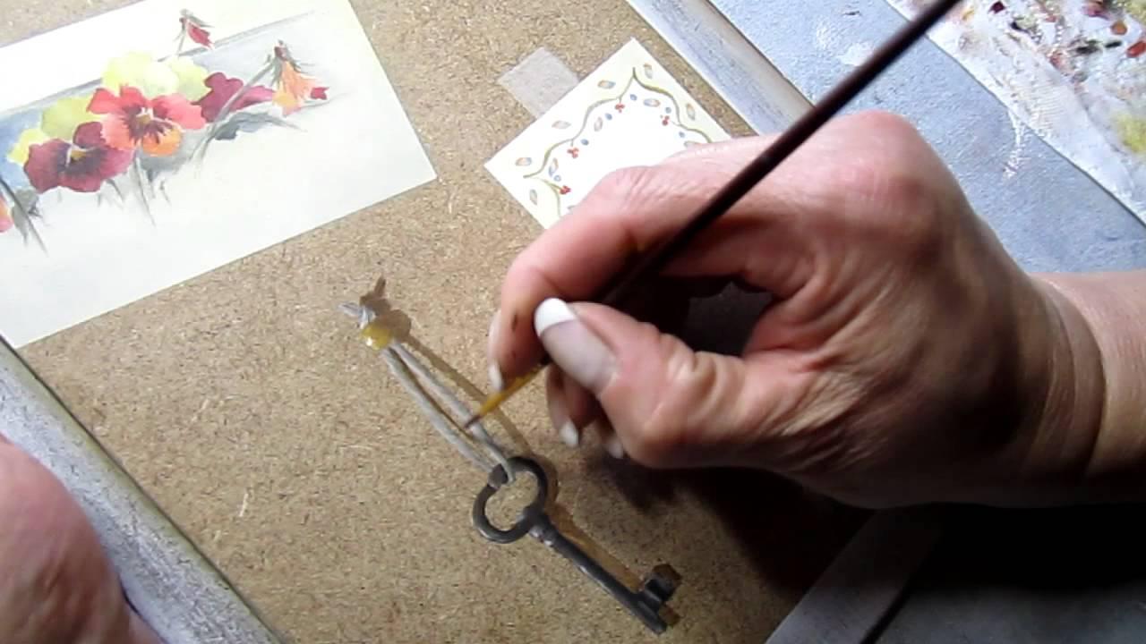 Tableaux Peinture Trompe Oeil la peinture du trompe l'oeil : la clé au tableau - youtube