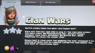 CLAN WARS - Loot system & Clan castle lvl 6 (UPDATED)