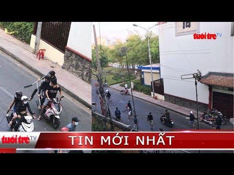 ⚡ NÓNG | Hơn 20 người hỗn chiến trên đường phố tại TP.HCM