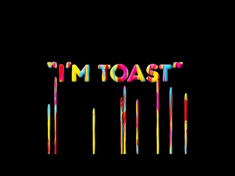 Sparks - I'm Toast (Official Lyric Video)