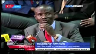 Wilson Sossion's adress while calling off teachers strike