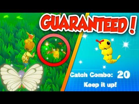 HOW TO FIND GUARANTEED SHINY POKÉMON in Pokémon Let's Go!