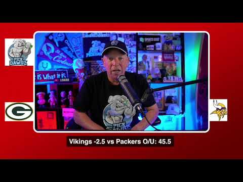 Green Bay Packers vs Minnesota Vikings NFL Pick and Prediction 9/13/20 Week 1 NFL Betting Tips