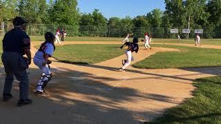Brayden Baseball 07/18/2018: Hit (3): Seabreeze Tournament