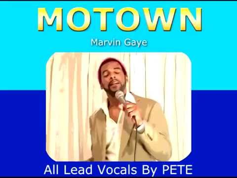 MOTOWN VOICES by Pete Peterkin / Marvin/Temps/Tops/Smokey/ Stevie etc