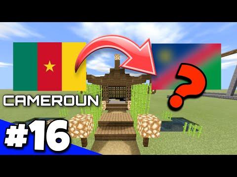 ON CHANGE DE PAYS ?! RIP CAMEROUN 🥺 NationsGlory bedrock EP 16