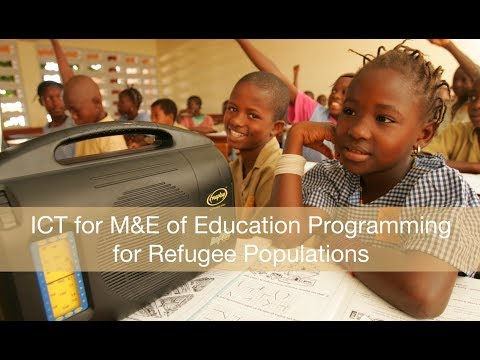 ICT for M&E of Education Programming for Refugee Populations
