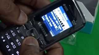 Samsung Guru FM Plus SM-B110E/D Mobile Unboxing Video