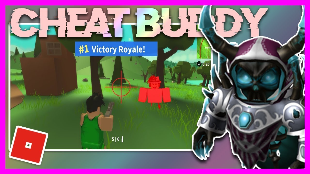 NEW ROBLOX EXPLOIT: CHEAT BUDDY (WORKING) | ESP, AIMBOT, ISLAND ROYALE  HACK!!