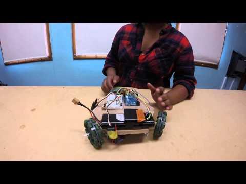 Chloe P - Omnidirectional Robot Milestone 2 (Main Project)