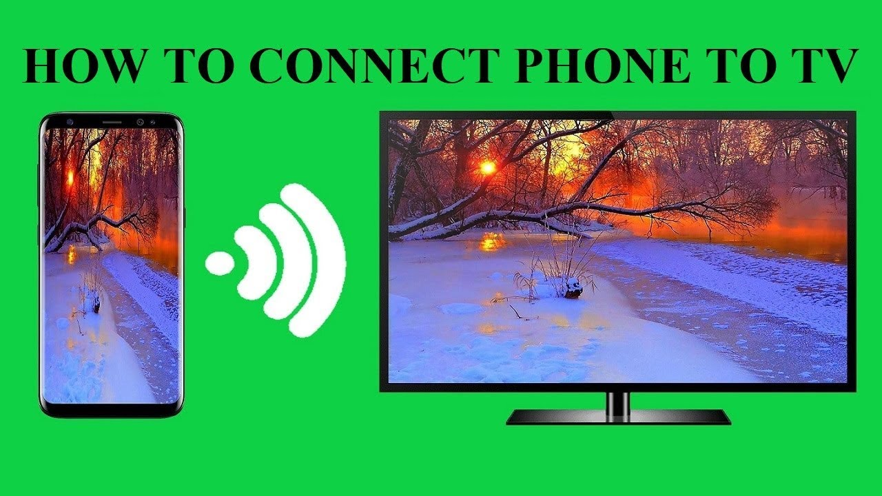 Screen Mirror Android Phone To Tv For Free Connect Your Phone To Tv Youtube