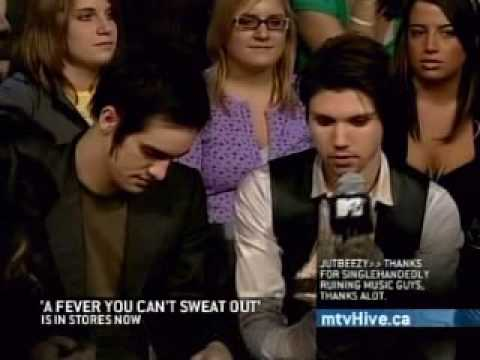 MTV Live Interview With P!ATD.