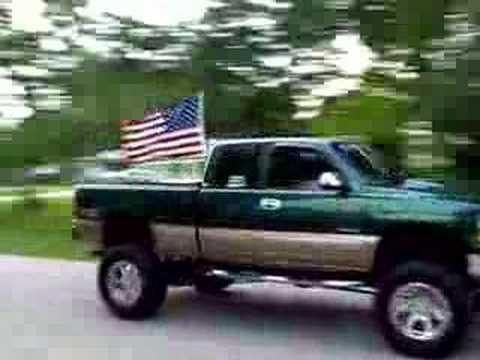 Flag Pole On My Truck Youtube