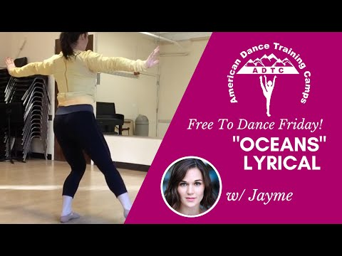 "Lyrical Dance Tutorial (Adv/Beg): ""Oceans"" By Hillsong UNITED"