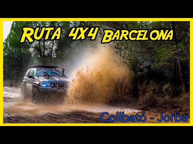 Ruta 4x4 Barcelona / de Collbató a Jorba