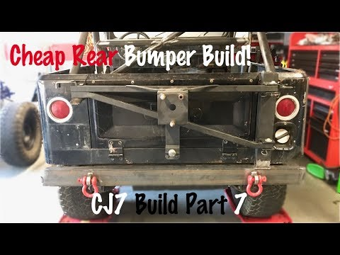 Homemade Offroad Bumper | Jeep CJ7 Build Part 7