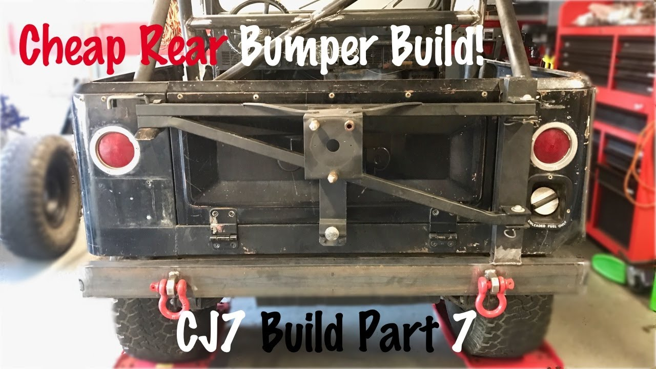 hight resolution of homemade offroad bumper jeep cj7 build part 7