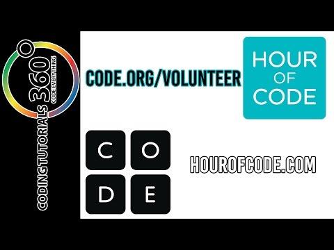 Code.org and Hour of Code Volunteer Now