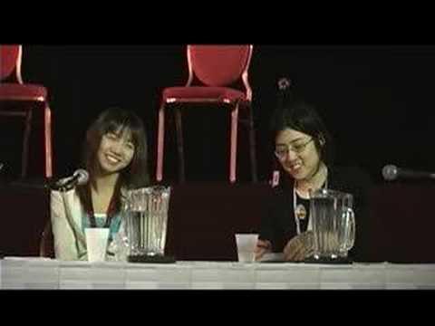 Anime North 2005 Asami Sanada Q&A session