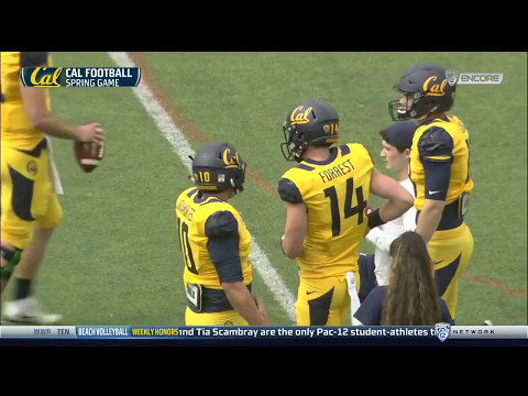2017 Cal Football Spring Game (Full Broadcast)