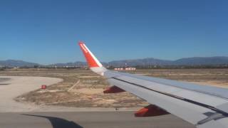 Easyjet take off from Palma, Mallorca Airport (PMI)