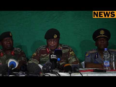 GENERAL CHIWENGA Press Confrence at KGVI