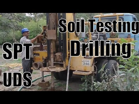 ✔ Soil Testing Drilling Services Provider Hydraulic Rotary Core Drilling Rig